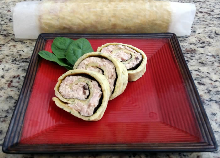 Smoked Chicken Roulade