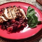 Barbecue Chermoula Chicken with Fruity Trio Rice