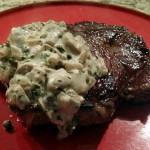 Mushroom and Green Peppercorn Sauce
