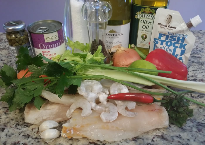 Seafood Bouillion