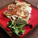 Roast Chicken and Broccoli Lasagne