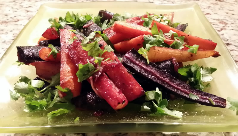 Roasted Carrot Medley