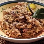 Smoked Fish and Jerusalem Artichoke (Orzo) Risotto