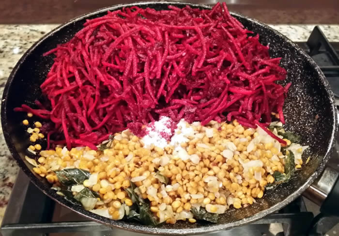 Keralite Beetroot Thoran