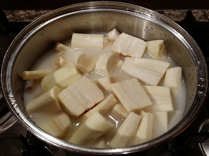 Mashed Parsnip and Celeriac