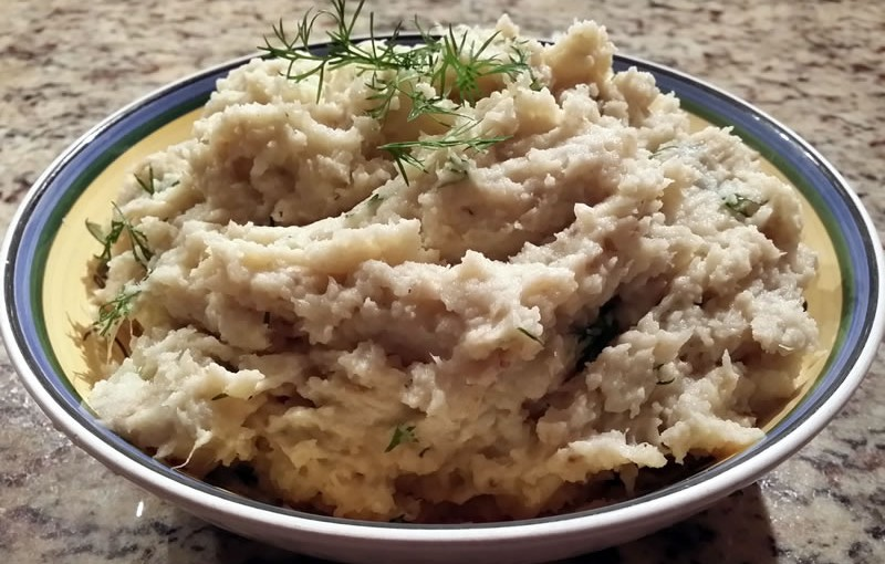 Mashed Parsnip and Celeriac
