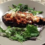North African Stuffed Eggplant