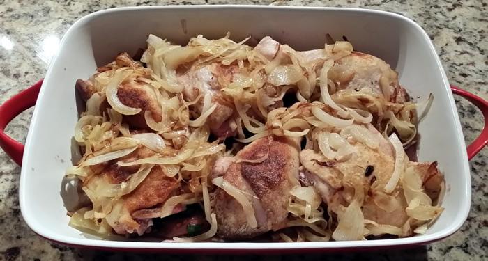 Sloshed Chicken Casserole