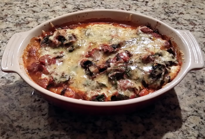 Three Cheese Eggplant Casserole