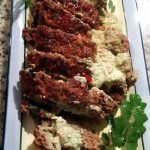 Avocado Stuffed Meatloaf
