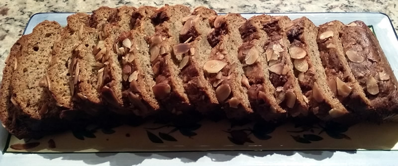 Almond, Banana & Carrot Bread