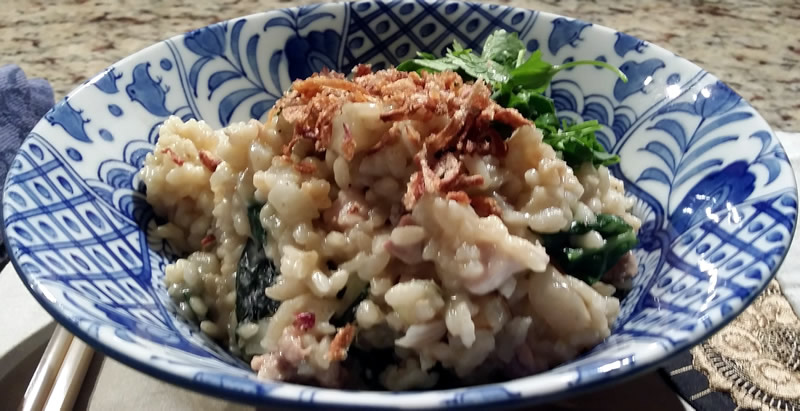 Thai Chicken & Jerusalem Artichoke Risotto