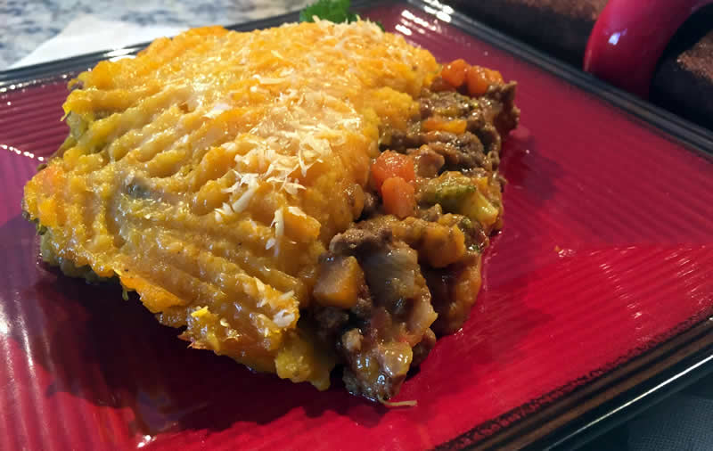 Pumpkin & Beef Cottage Pie